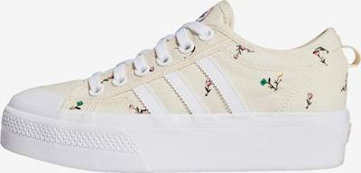 ADIDAS ORIGINALS Sneaker 'Nizza' in creme / grün / orange / hellpink / weiß, Produktansicht