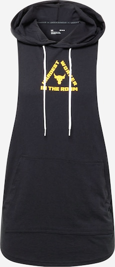 UNDER ARMOUR Sportsweatshirt in gelb / schwarz, Produktansicht