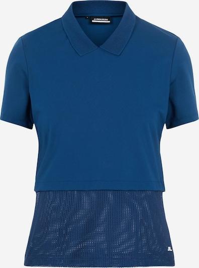 J.Lindeberg Funktionsshirt 'Essi' in kobaltblau / weiß, Produktansicht