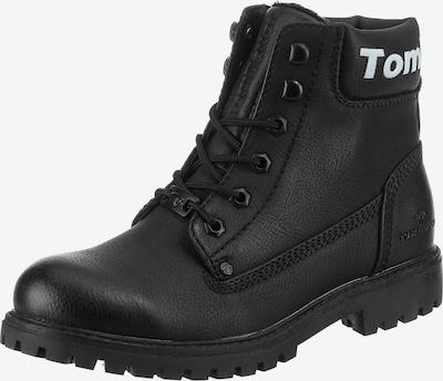 TOM TAILOR Paeltega poolsaabas must / valge, Tootevaade