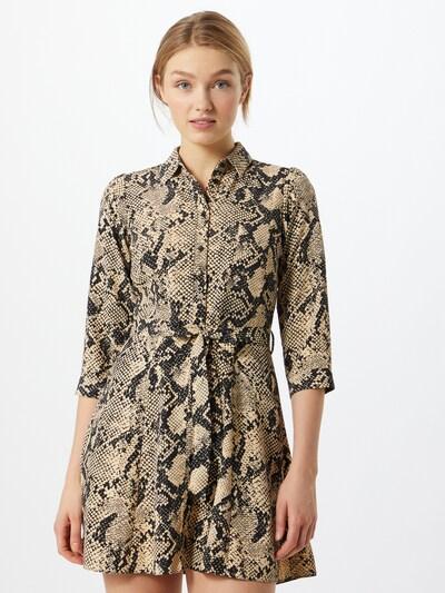 Dorothy Perkins Kleid in sand / schwarz, Modelansicht