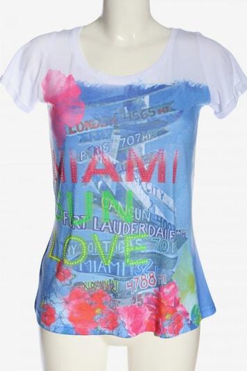 Poolgirl T-Shirt in S in blau / pink / weiß, Produktansicht