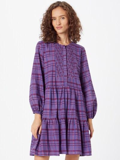 FRENCH CONNECTION Kleid 'AVETTA' in blau / lila / beere, Modelansicht