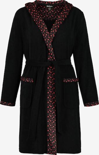 Ulla Popken Szlafrok długi w kolorze czarnym, Podgląd produktu