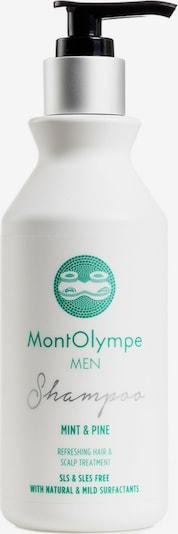 MontOlympe Shampoo 'MINT & PINE' in grün / weiß, Produktansicht