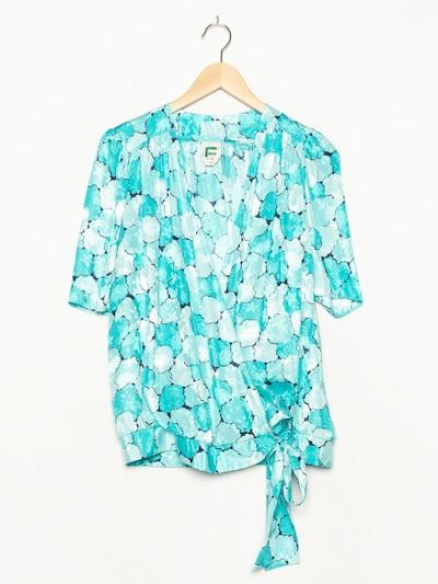 FRANKENWÄLDER Bluse in XL in blau, Produktansicht