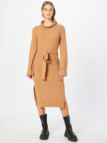 GAP Gebreide jurk in Beige