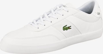 LACOSTE Platform trainers in White