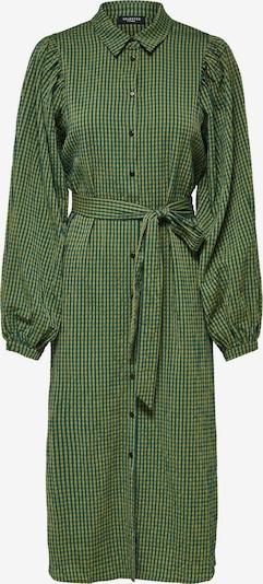SELECTED FEMME Robe-chemise en vert / noir, Vue avec produit