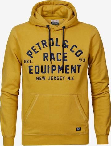 Petrol Industries Sweatshirt in Gelb