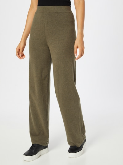 ONLY Spodnie 'COZY' w kolorze ciemnozielonym, Podgląd na modelu(-ce)