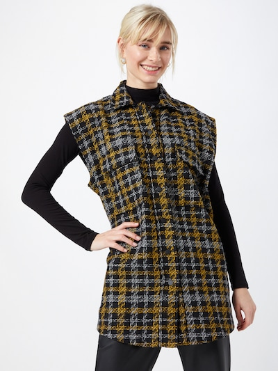 SISTERS POINT Vesta 'MELIA' - béžová / zlatá žltá / čierna, Model/-ka