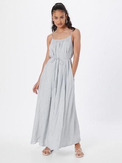 SISTERS POINT Kleid 'ITINA' in creme / taubenblau, Modelansicht