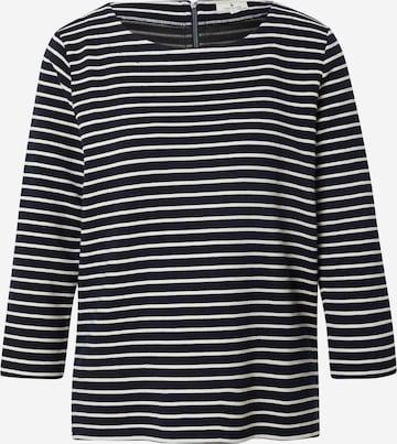 TOM TAILOR Sweatshirt in Schwarz