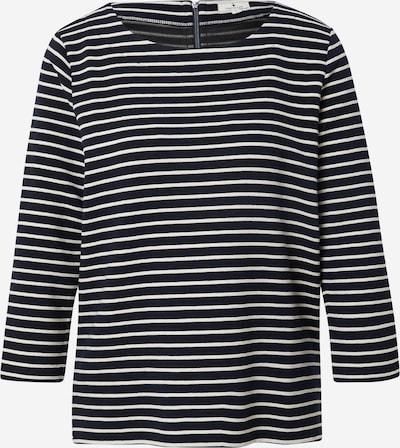 TOM TAILOR Sweatshirt in Black / White, Item view