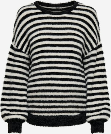 Only Maternity Pullover in Schwarz