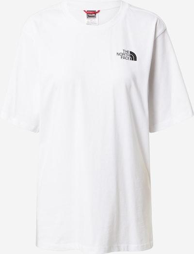 THE NORTH FACE T-Shirt 'SIMPLE DOME' in schwarz / weiß, Produktansicht