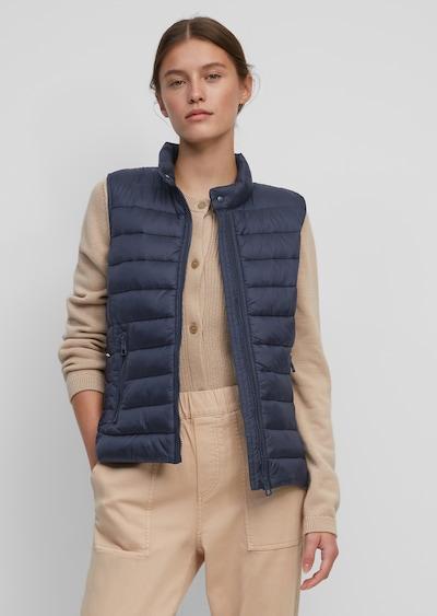 Marc O'Polo Weste in blau, Modelansicht