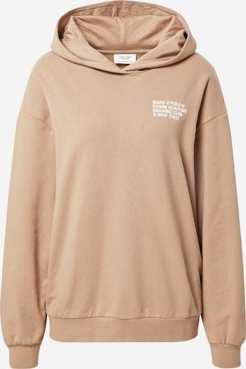 Marc O'Polo DENIM Sweatshirt in beigemeliert / weiß, Produktansicht