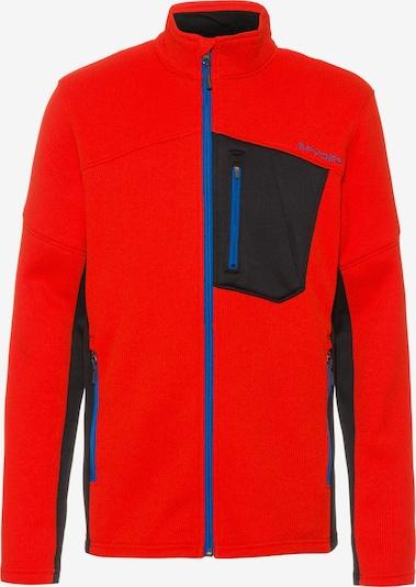 SPYDER Athletic Fleece Jacket 'Bandit' in Night blue / Red, Item view