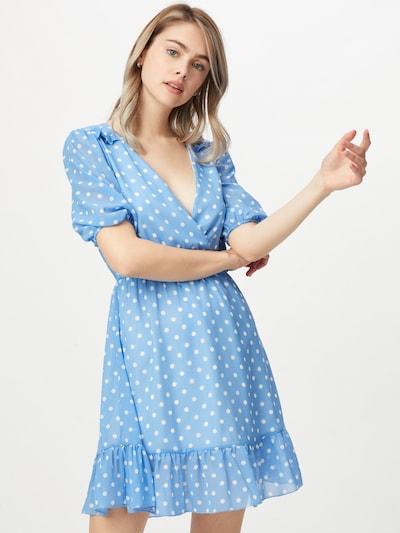 Sublevel Kleid in hellblau / weiß, Modelansicht