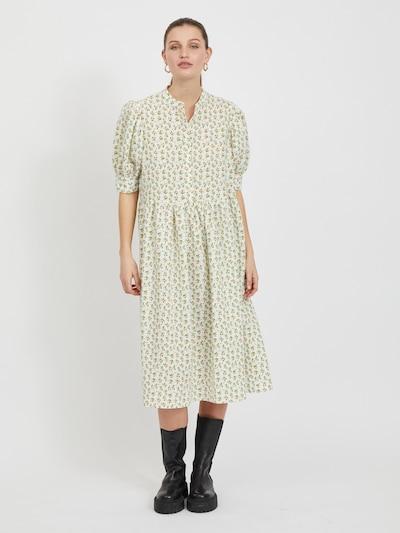 Rochie tip bluză 'Pimdi' VILA pe galben auriu / mentă / alb, Vizualizare model