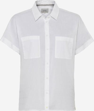 CAMEL ACTIVE Bluse in braun / weiß, Produktansicht
