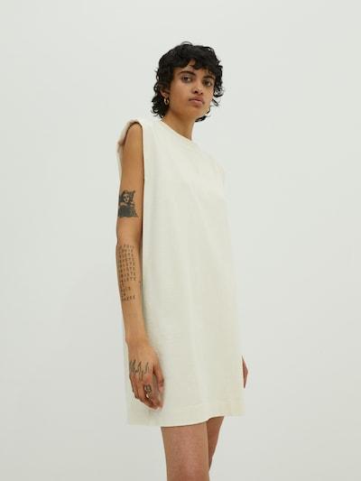EDITED Robe 'Rosie' en blanc, Vue avec modèle