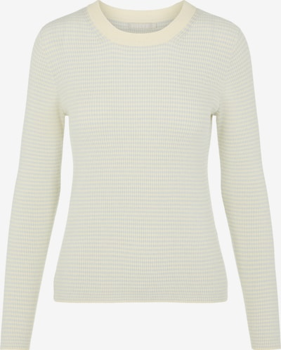PIECES Pullover 'Penny' in opal / weiß, Produktansicht