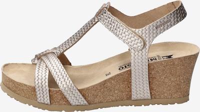 MEPHISTO Sandale in silber, Produktansicht