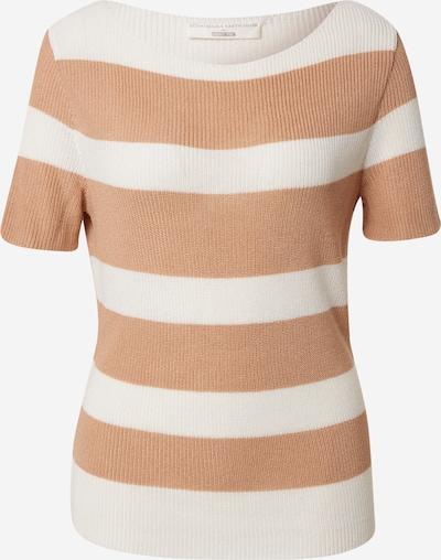 Guido Maria Kretschmer Collection Pullover 'Dana' in beige / weiß, Produktansicht