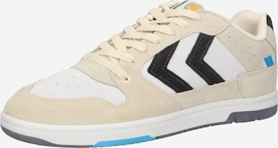 Hummel Platform trainers in Cream / Black / White, Item view