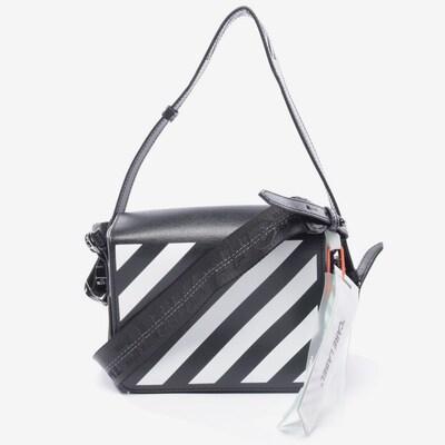 Off-White  Schultertasche in S in schwarz / weiß, Produktansicht