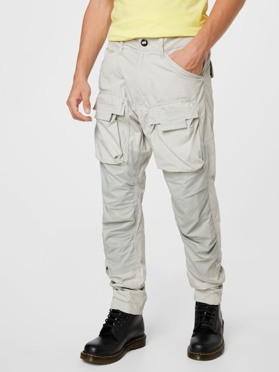 Pantaloni cu buzunare G-Star RAW pe azur / alb, Vizualizare model