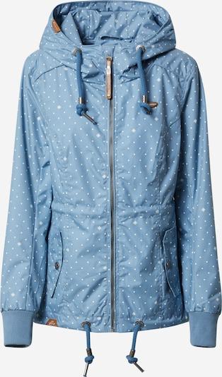 Geacă de primăvară-toamnă 'DANKA' Ragwear pe albastru fumuriu / alb, Vizualizare produs