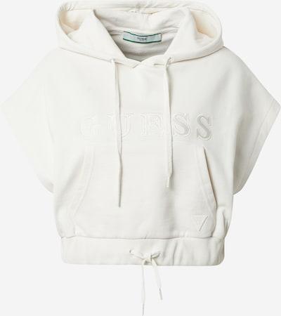GUESS Sweatshirt in naturweiß, Produktansicht