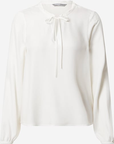 ONLY Bluse 'ANNALIE' i hvid, Produktvisning