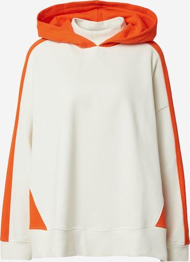 BOSS Casual Sweatshirt 'C_Eblocky' in Orange / White, Item view