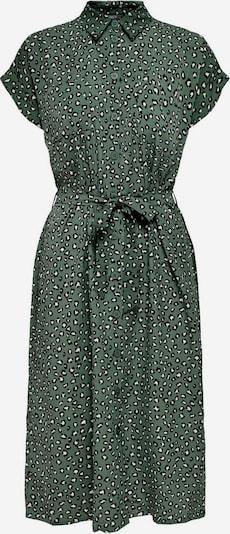 Abito camicia 'Hannover' ONLY di colore verde scuro / nero / bianco, Visualizzazione prodotti