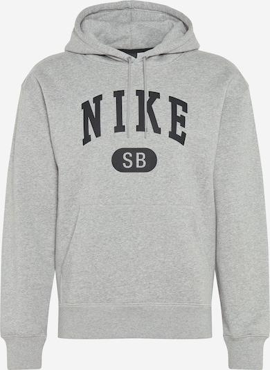 Nike SB Sportsweatshirt in graumeliert / schwarz, Produktansicht