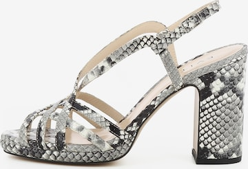 EVITA Damen Sandalette LINDA in Grau