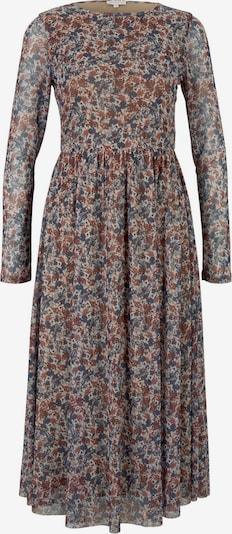 TOM TAILOR Kleid in blau / grau, Produktansicht