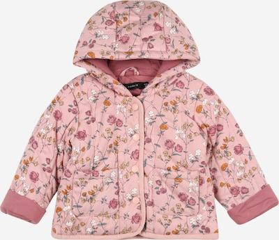 NAME IT Övergångsjacka 'MILLIE' i ockra / pastellgul / rosa / rosé / vit, Produktvy