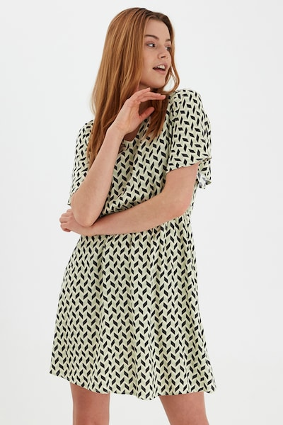 b.young Freizeitkleid mit Allover Print in grün, Modelansicht