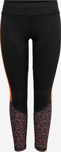 ONLY PLAY Sportbroek in de kleur Sinaasappel / Zwart, Productweergave