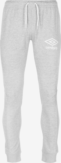 UMBRO Jogginghose in grau / weiß, Produktansicht