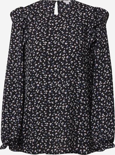 OVS Bluse in blau / schwarz / weiß, Produktansicht