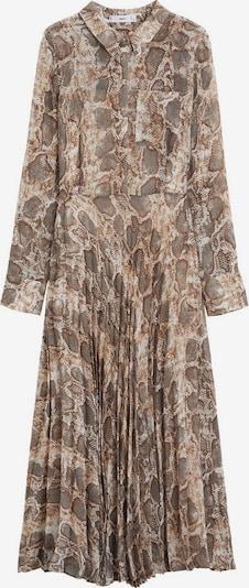 MANGO Kleid 'serpi' in braun, Produktansicht