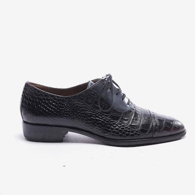 Pertini Schnürschuhe in 39,5 in schwarz / silber, Produktansicht