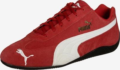 PUMA Sneaker 'SpeedCat' in gold / rot / weiß, Produktansicht